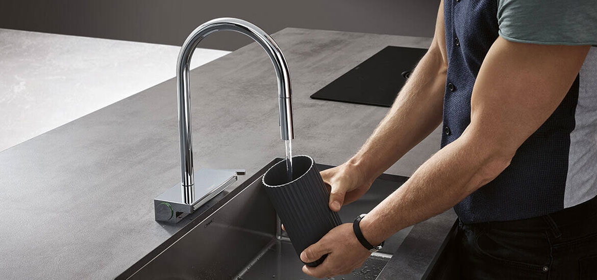 Hansgrohe Aquno Select: Introduce It To Your Kitchen